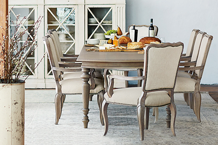 French Country Dining Room Table Chairs | Kathy Kuo Home