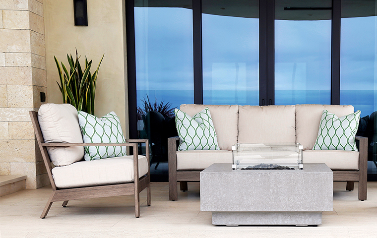 Aluminum Furniture | Kathy Kuo Home