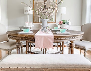 Dining Room Reveal with Pamela Dyer | Kathy Kuo Home