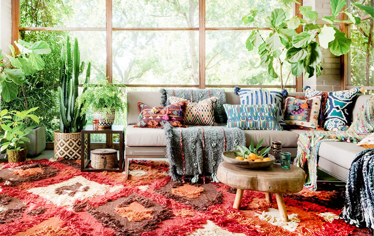 Image result for bohemian furniture
