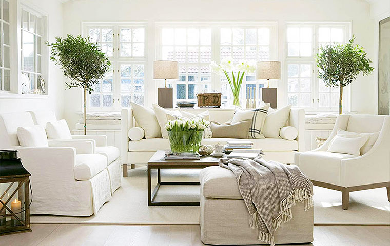 Light, Bright & Casual | Kathy Kuo Home