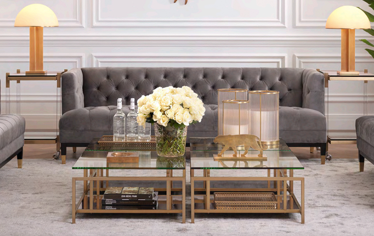 Coffee Table Styling | Kathy Kuo Home