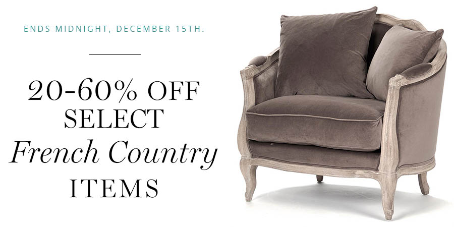 French Country Sale | Kathy Kuo Home