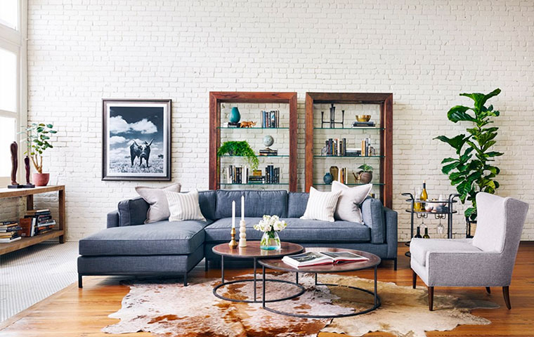 Industrial Chic Furniture | Kathy Kuo Home