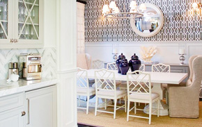 Coastal Dining Room | Kathy Kuo Home