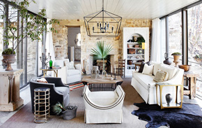 Rustic and Refined | Kathy Kuo Home