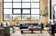 Industrial Loft | Kathy Kuo Home