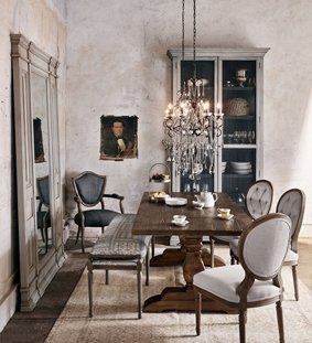 French Country Industrial Loft Urban Eclectic Furniture Kathy