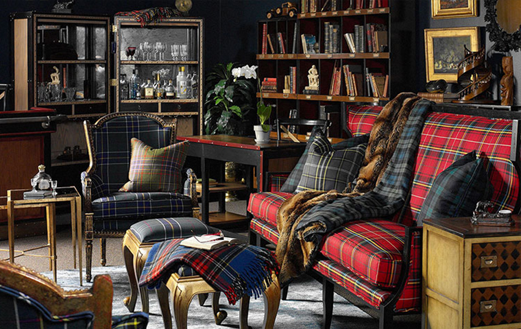 Plaid Furniture | Kathy Kuo Home