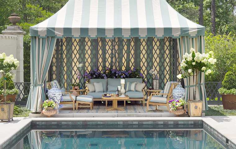 Poolside Furniture | Kathy Kuo Home