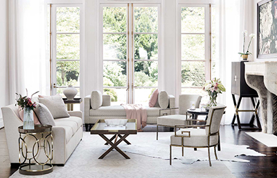 Living Room | Kathy Kuo Home