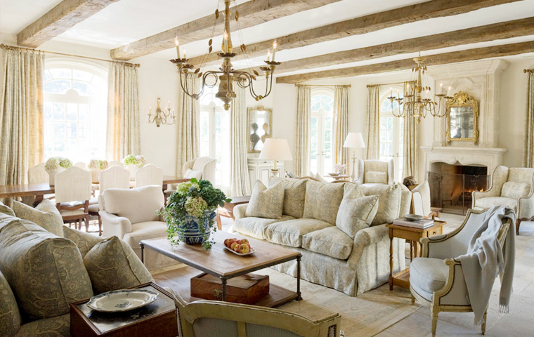 Rustic French Country | Kathy Kuo Home