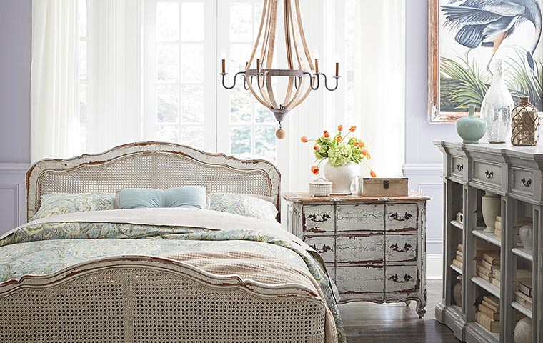 Rustic Bedroom | Kathy Kuo Home