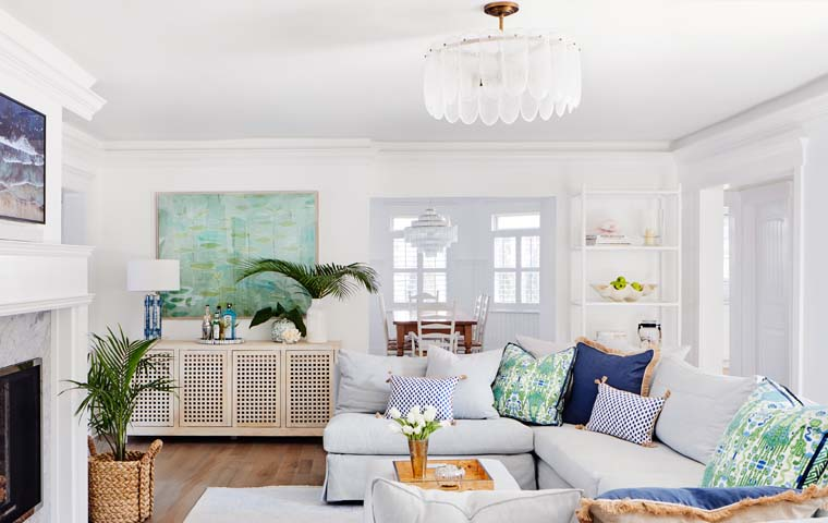 Spring Lake Beach House | Kathy Kuo Home