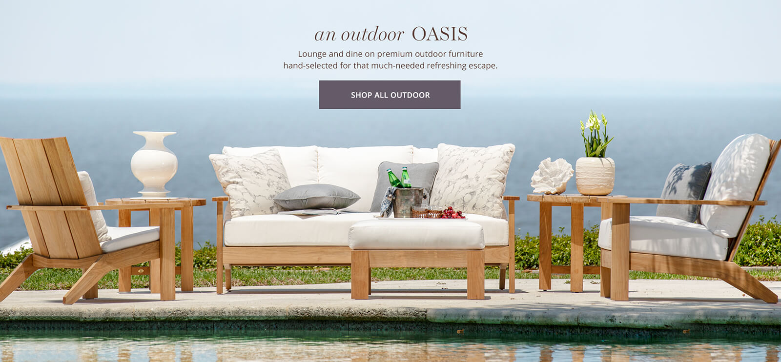 An Outdoor Oasis