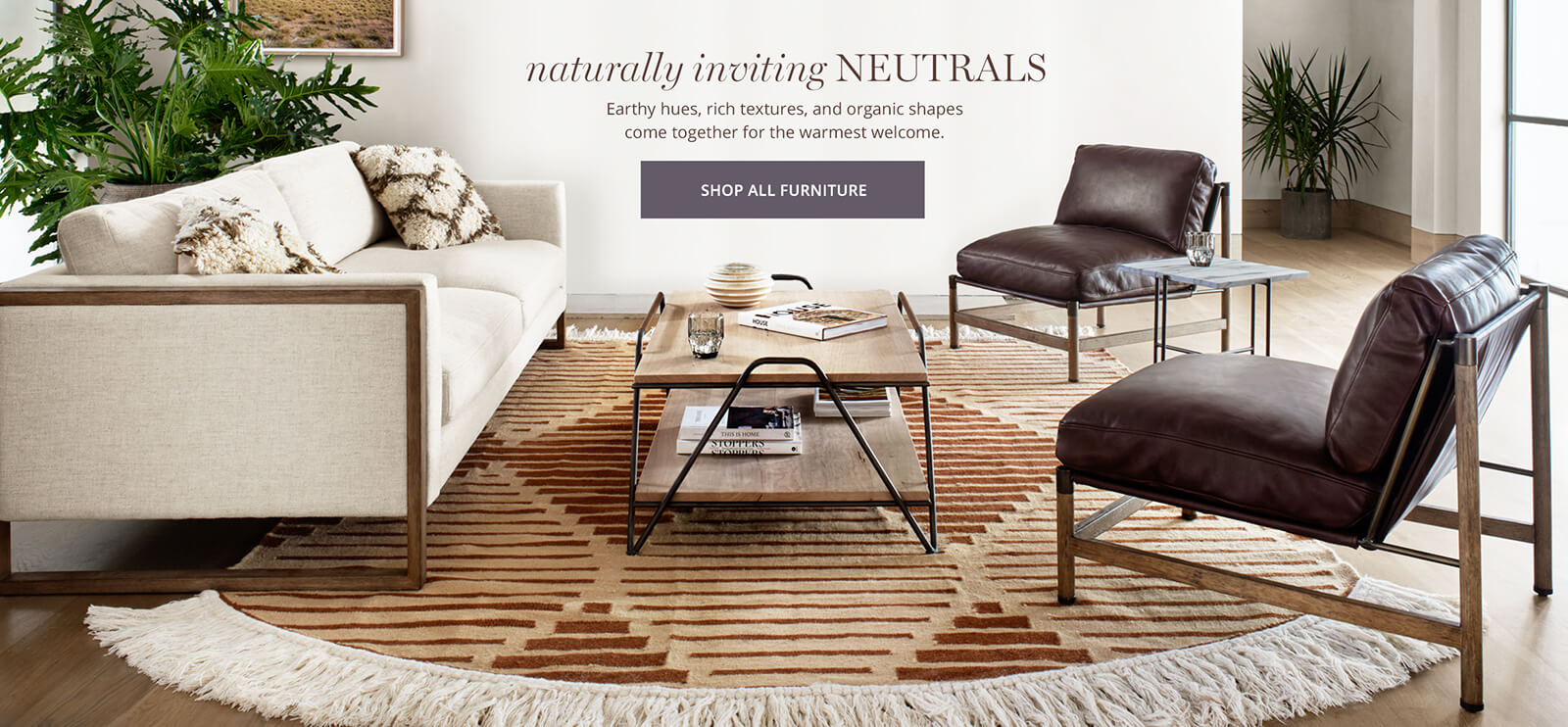 Naturally Inviting Neutrals