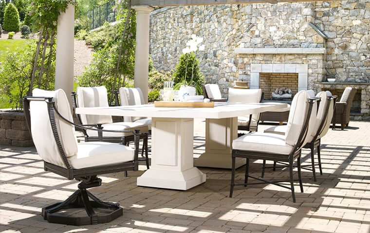 Amazing Traditional Outdoor Furniture Part - 4: Traditional Outdoor Furniture | Kathy Kuo Home