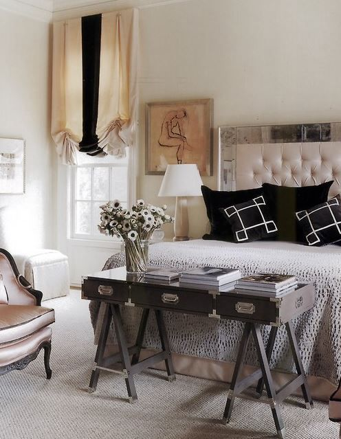 Desks at the Foot of the Bed: Design Do or Don't? | Kathy ...