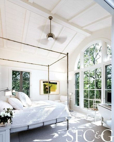 Beach House Decor In All White