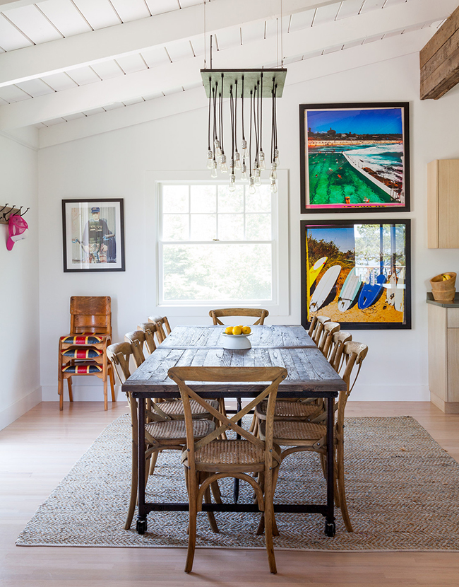 Ben Watts home tour dining room