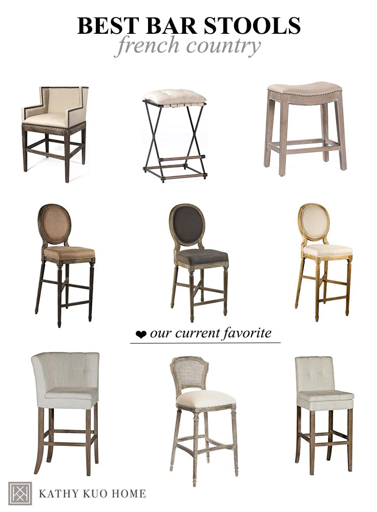 french country bar stools French Country Bar Stools: Our Top Picks | Kathy Kuo Blog | Kathy  french country bar stools