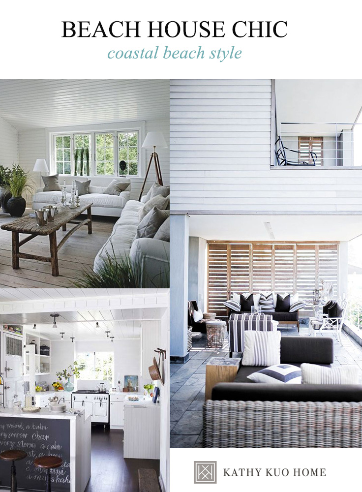 Get the Look: Coastal Beach Style Living Room | Kathy Kuo Blog ...