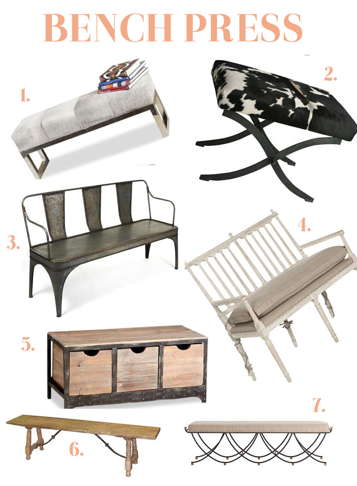 Top Benches for Decorating in the Bedroom