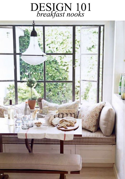 How to Design a Breakfast Nook