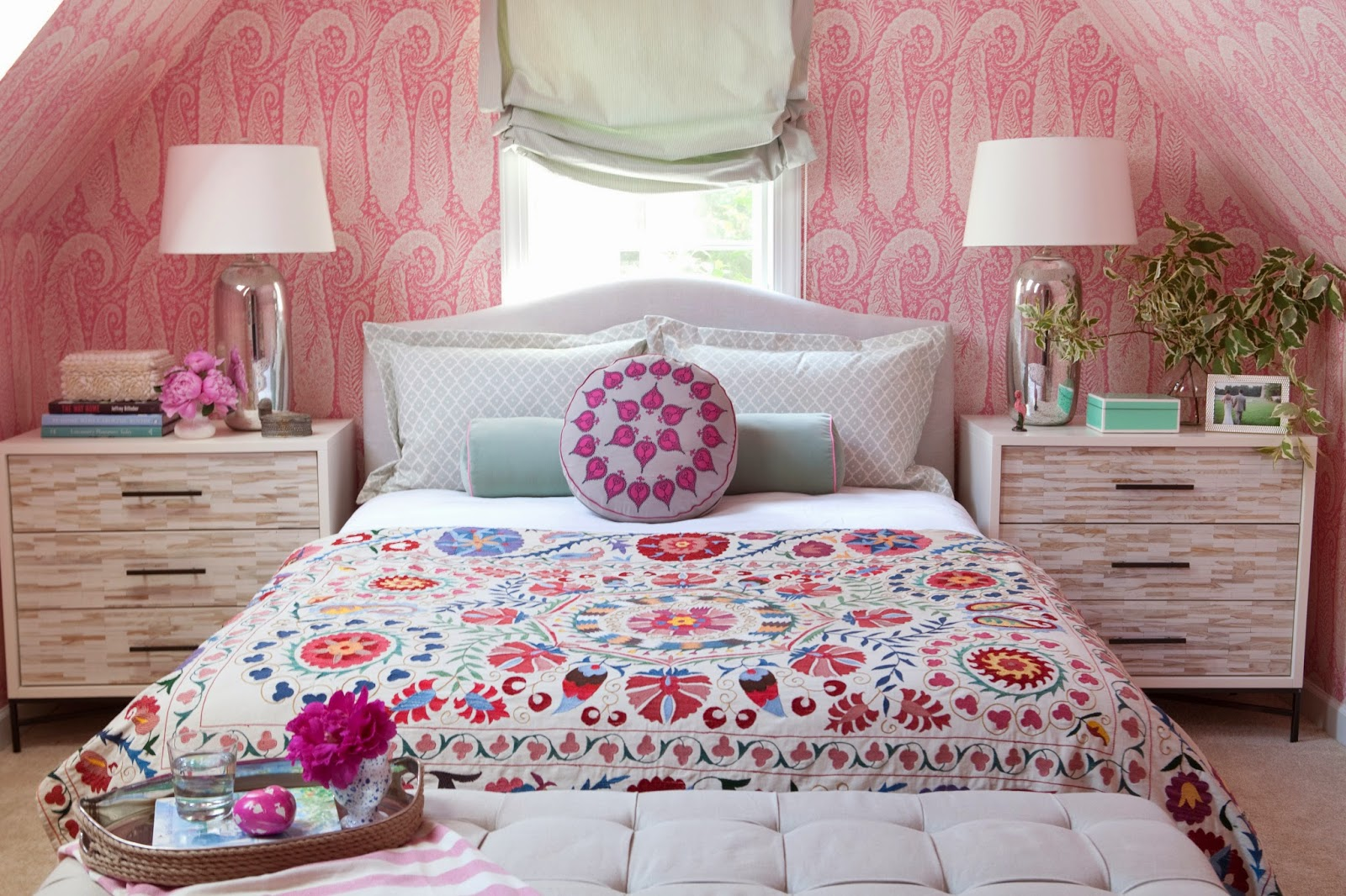 eclectic bohemian girl room ideas