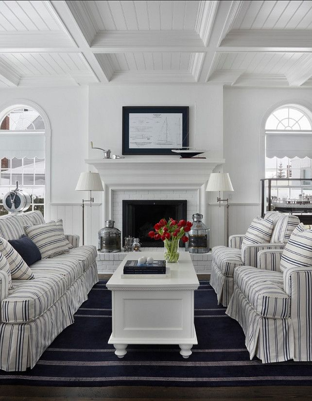 Rooms We Love French Country Coastal Chic Living Room Kathy Kuo