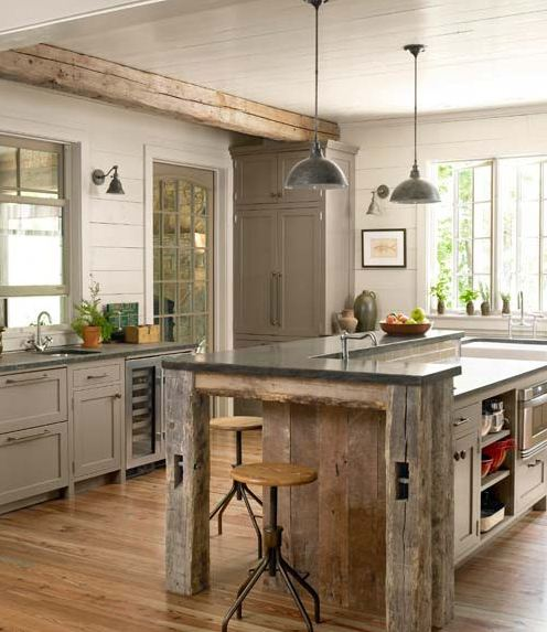 Industrial Kitchen Home: Get The Look: French Industrial Country Kitchen