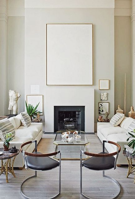 Designing A Neutral Living Room By Kathykuohome Featuring Patina Furniture