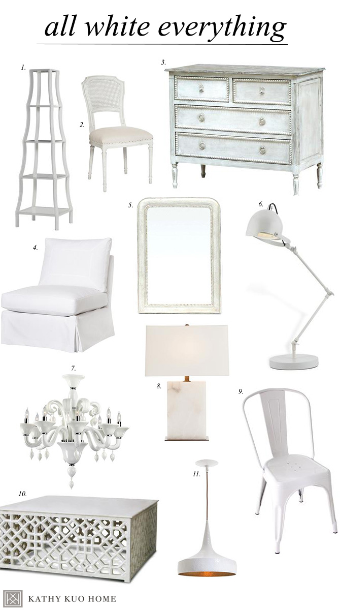 all white beach house decor