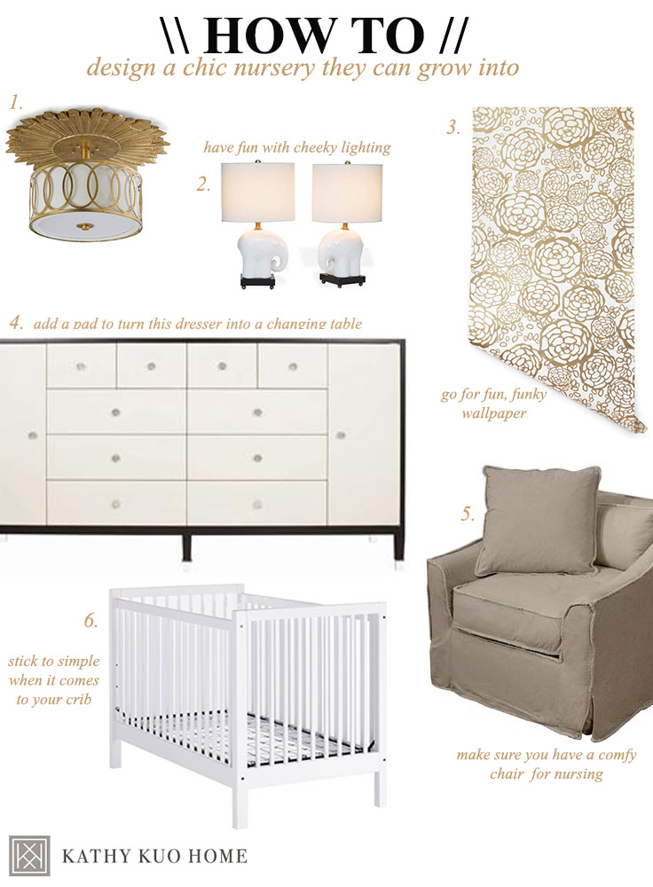 Tips on Designing a Chic Nursery