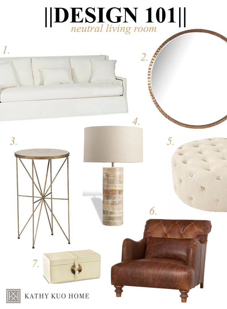 How to Design a Neutral Living Room