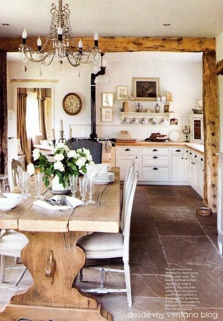 cottage farmhouse decor for kitchen