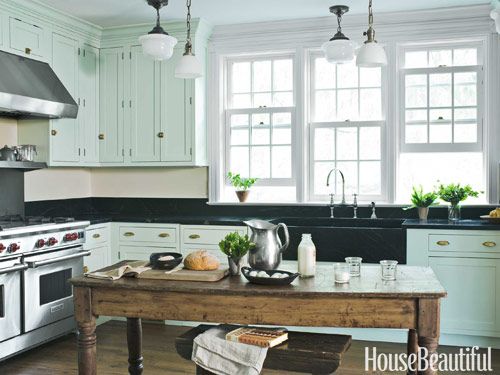 farmhouse kitchen table