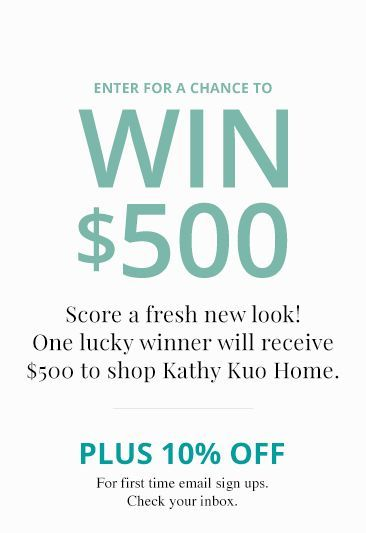 Win 500$ gift Card | Kathy Kuo Home