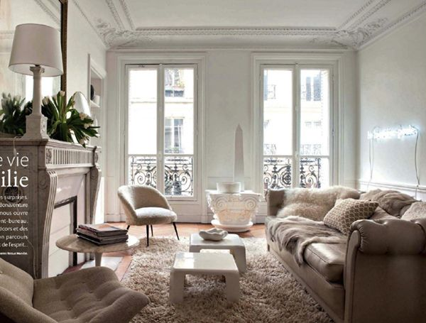 Crushing on neutral living room design ideas for Paris living room ideas