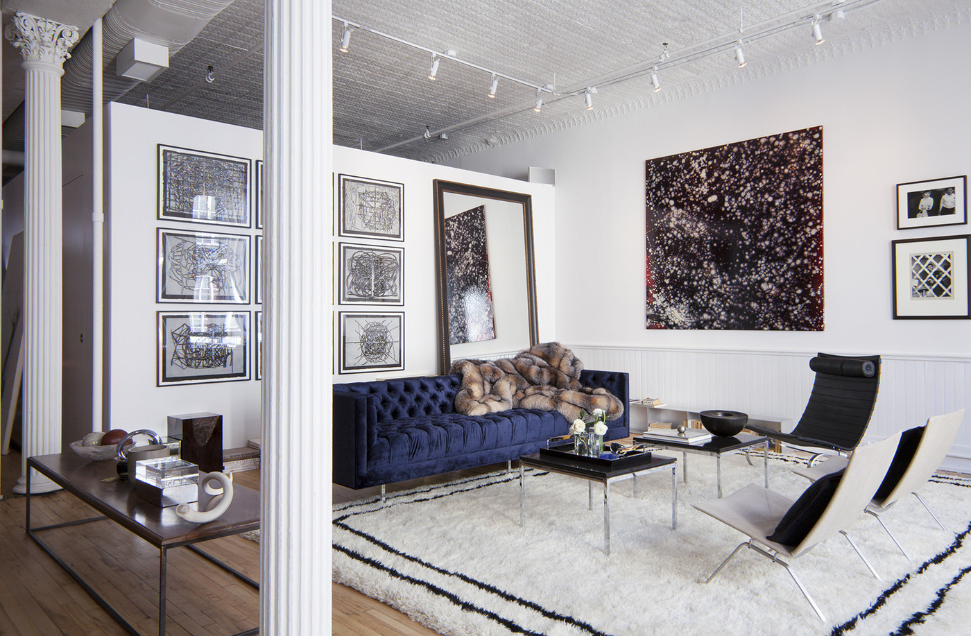 monday inspiration the line s luxury nyc apartment in soho kathy