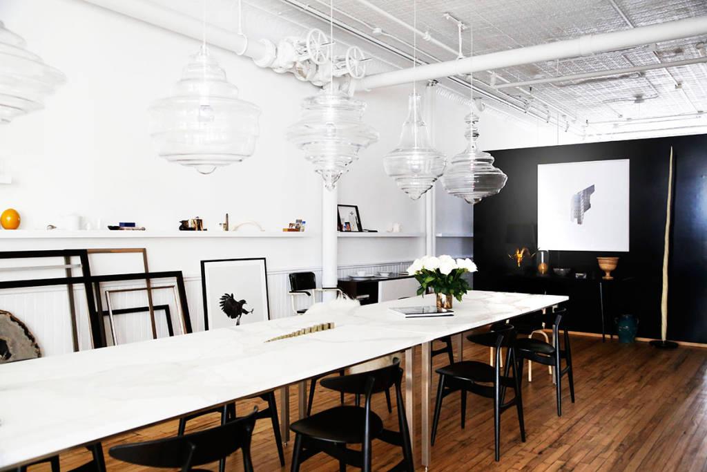 design studio long table