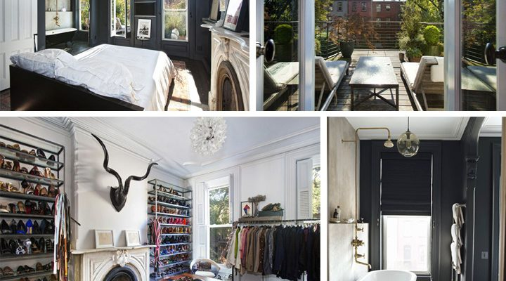 Living In: Jenna Lyons' Stylish Brooklyn Brownstone Home