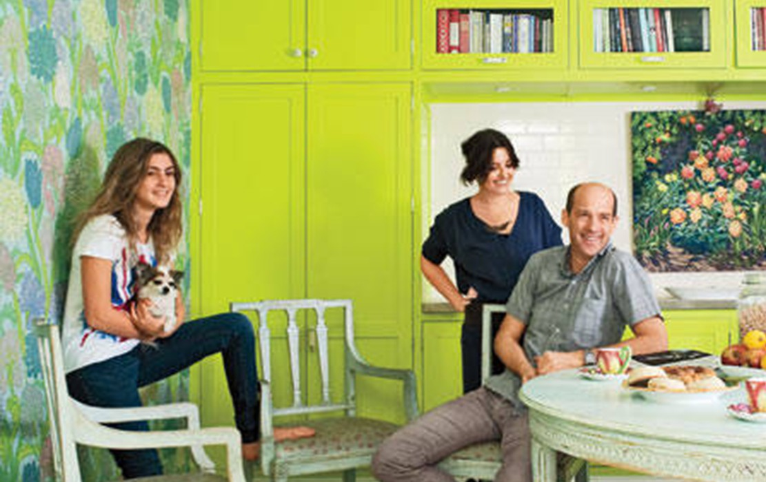 Jeanine Lobell and Anthony Edwards Manhattan Home