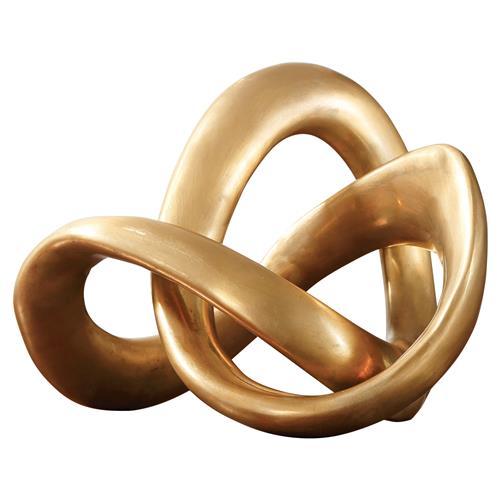 gold sculpture