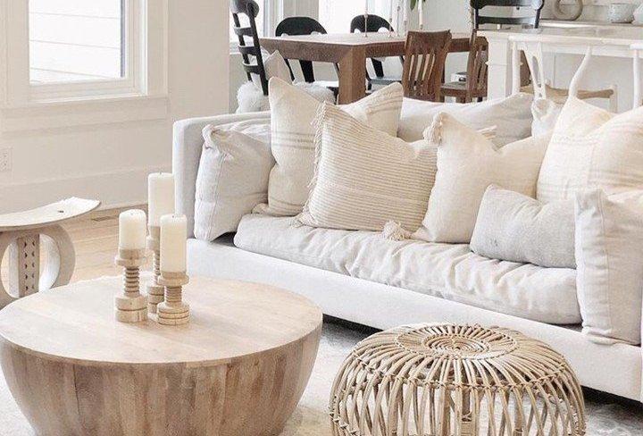 Coastal Interior Design: All White Beach House Decor