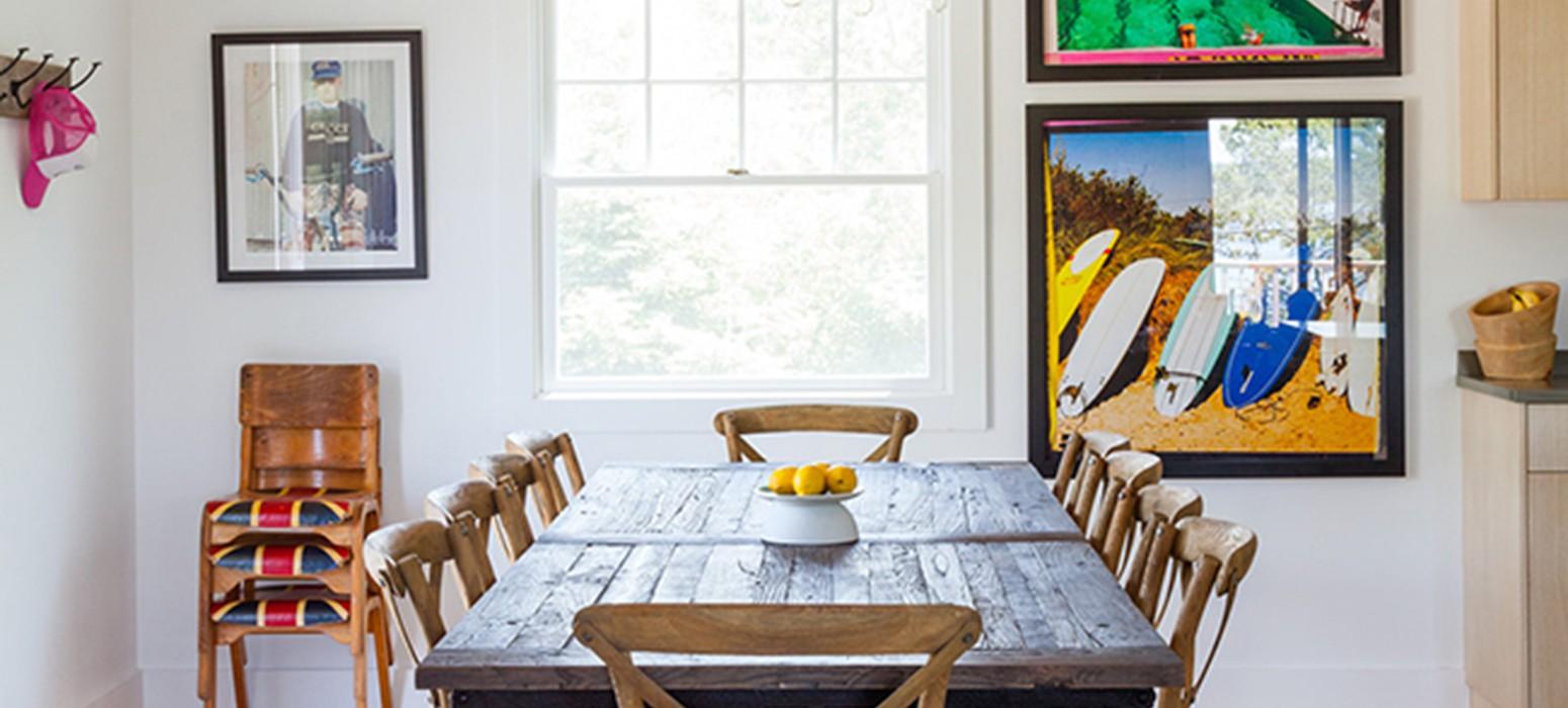 Home Tour of Ben Watts' Montauk Cottage