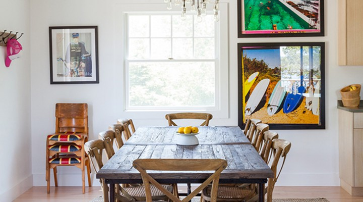 Home Tour of Ben Watts' Montauk Cottage