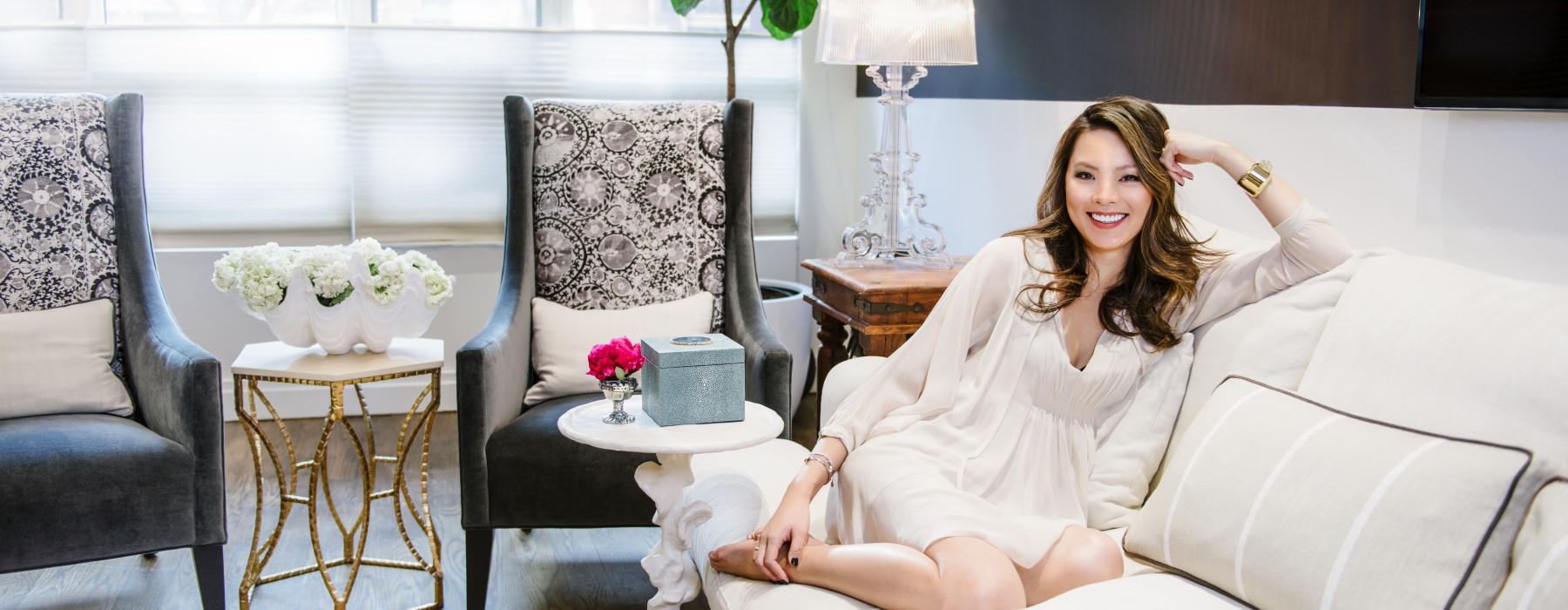 Get to Know Kathy Kuo, The Mom & Designer Behind Kathy Kuo Home