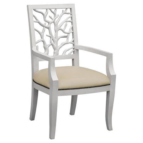 muslin chair