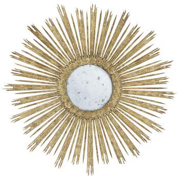 Gisele-Hollywood-Regency-Aged-Grey-Gold-Leaf-Starburst-Wall-Mirror-10598